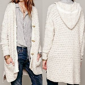 🆕 Free People Turn Up The Sun Toggle Cardigan Med